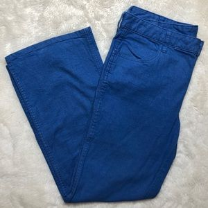 Tory Burch Leigh Flare Jeans Wide Leg Size 31